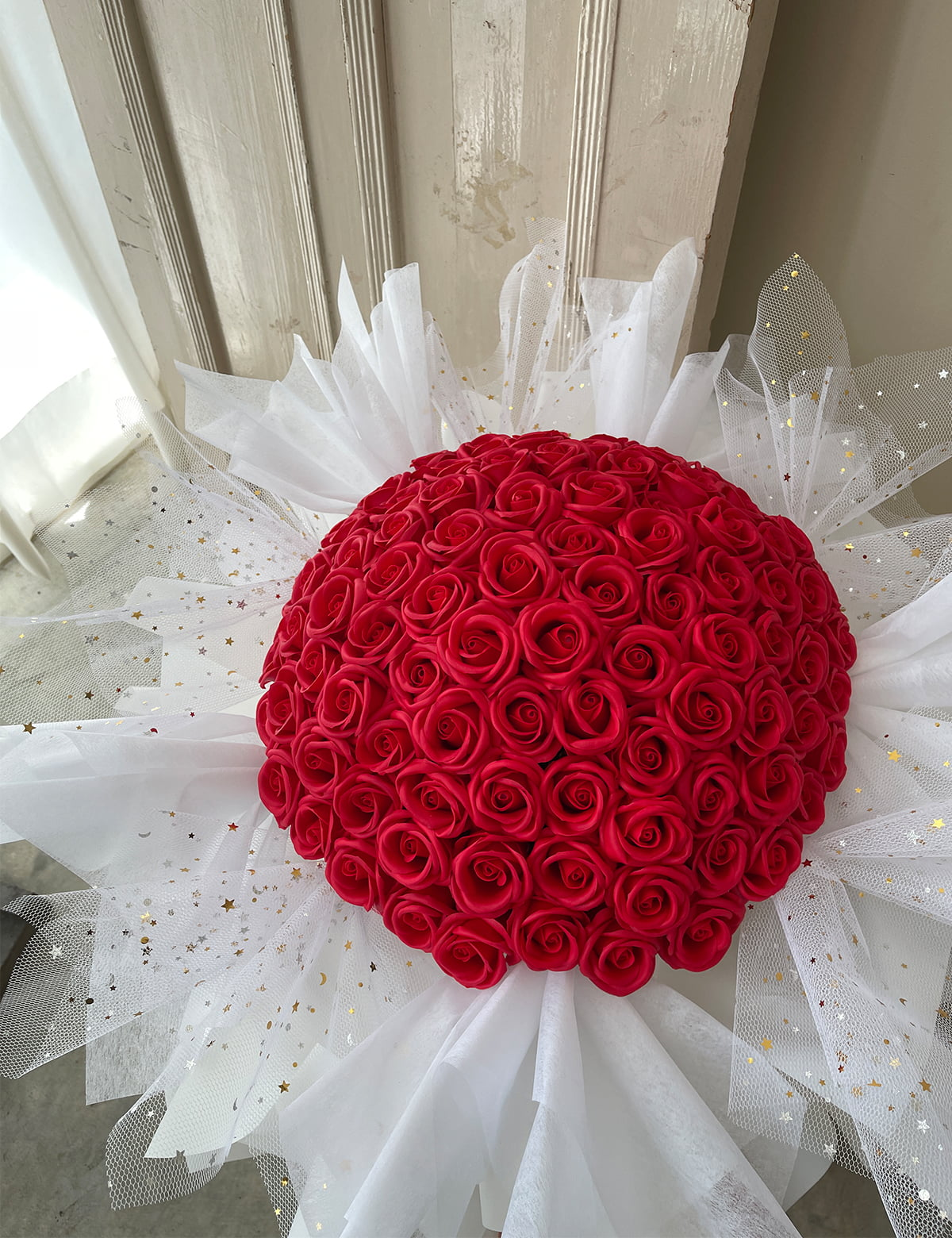 99stalks roses bouquet