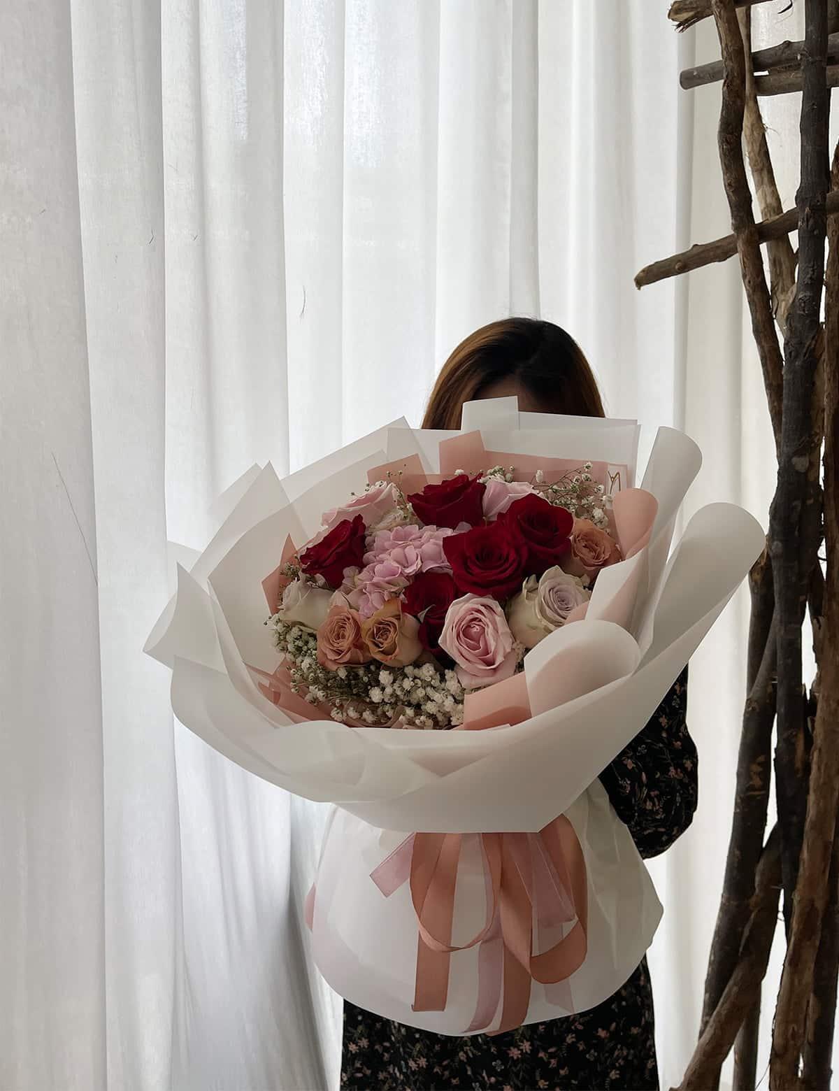 bukit jalil flower bouquet